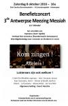 Benefietconcert – 3de Antwerpse Meezing Messiah