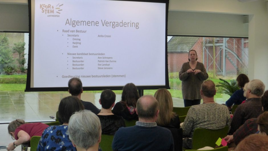 Algemene Vergadering (online!!)